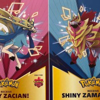 Shiny Zacian and Shiny Zamazenta will be distributed for Pokémon Sword and Shield at GAME in the UK from October 22 to November 18